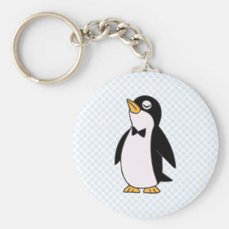 pepe penguin keychain