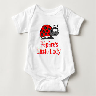 Pepere's Little Lady Baby Bodysuit