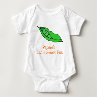 Pepere's Little Sweet Pea Baby Bodysuit