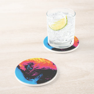pepper and plastic silenced coaster