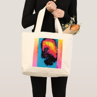 pepper and plastic silenced large tote bag