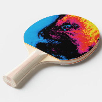 pepper and plastic silenced ping pong paddle