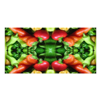 Pepper as Art - Spicy Abstract Photo Greeting Card