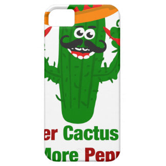 Pepper Cactus Says Eat More Peppers iPhone 5 Covers