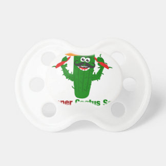Pepper Cactus Says Eat More Peppers Pacifier