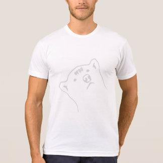 Pepper Gang White on White #FSG Bear T-Shirt