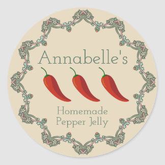 Pepper Jelly Label