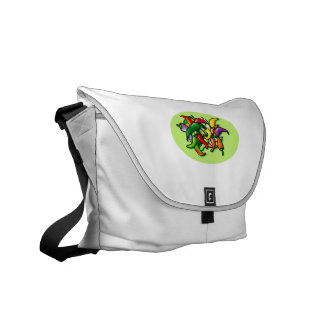 Pepper Pile Graphic Colorful design Courier Bags