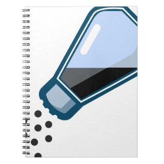 Pepper Shaker Spiral Notebook