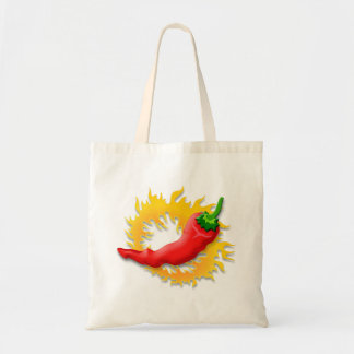 Pepper with flame bags
