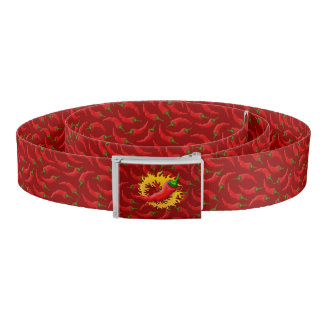 Pepper with flame belt