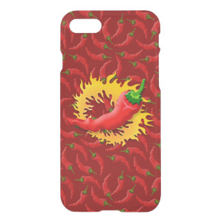 Pepper with flame iPhone 7 case