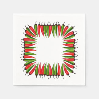 Peppered HHM Party Paper Napkin