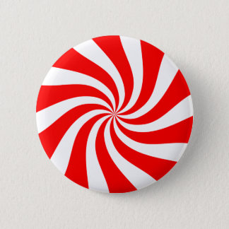 peppermint candy 2 inch round button