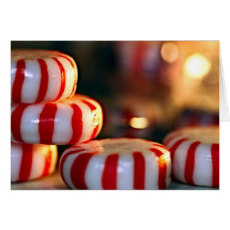 Peppermint Candy Card