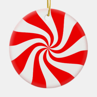 Peppermint Candy Christmas Tree Ornament