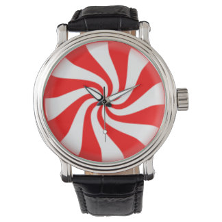 Peppermint Candy Swirl Watch