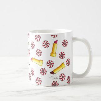 Peppermint Kisses Coffee Mug