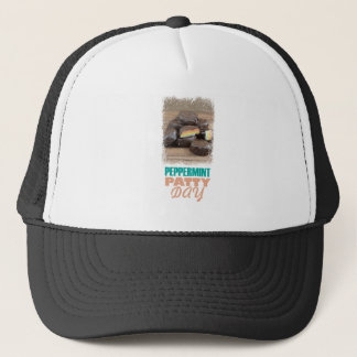 Peppermint Patty Day - Appreciation Day Trucker Hat