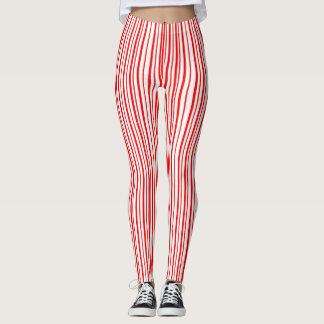 Peppermint Stripes Leggings