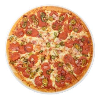 Pepperoni Cheese Pizza  Kitchen Cabinet Knob