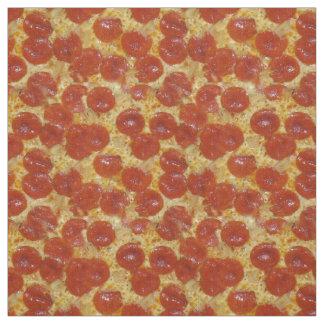 Pepperoni et pizza de fromage tissu