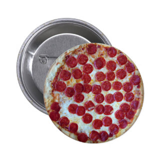 Pepperoni Pizza 2 Inch Round Button