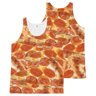 Pepperoni Pizza All-Over-Print Tank Top