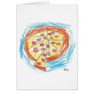 Pepperoni_Pizza_by_Nina_Age_6 Card