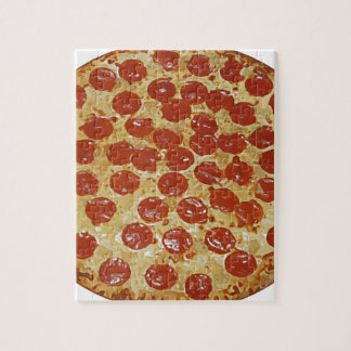 Pepperoni Pizza Jigsaw Puzzle