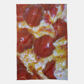 Pepperoni Pizza Kitchen Towel