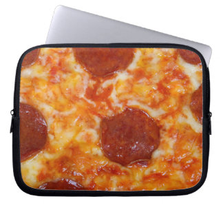 Pepperoni Pizza Laptop Computer Sleeves