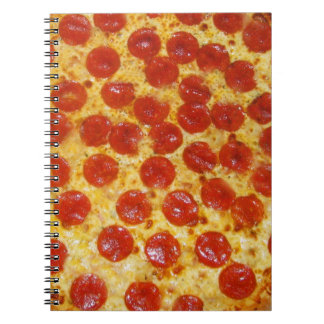 Pepperoni Pizza Notebook