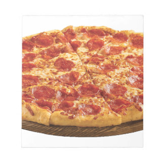 Pepperoni Pizza Notepad