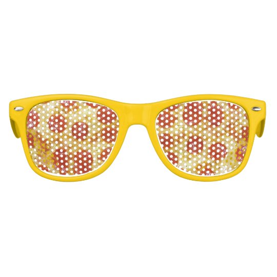 Pepperoni Pizza Party Food Snack Kids Sunglasses