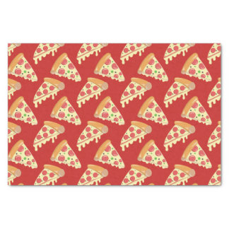 Pepperoni Pizza Party Tissue Paper