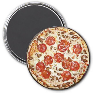 Pepperoni Pizza Refrigerator Magnet