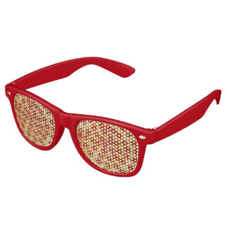Pepperoni Pizza Retro Sunglasses