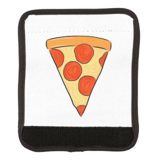 Pepperoni Pizza Slice Classic New York Style Pizza Luggage Handle Wrap
