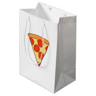 Pepperoni Pizza Slice Classic New York Style Pizza Medium Gift Bag