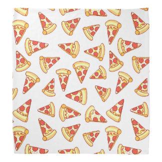 Pepperoni Pizza Slice Drawing Pattern Bandana