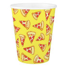 Pepperoni Pizza Slice Drawing Pattern Paper Cup