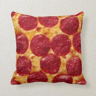 Pepperoni Pizza Throw Pillow