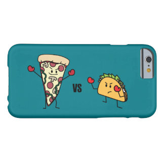 Pepperoni Pizza VS Taco: Mexican versus Italian Barely There iPhone 6 Case