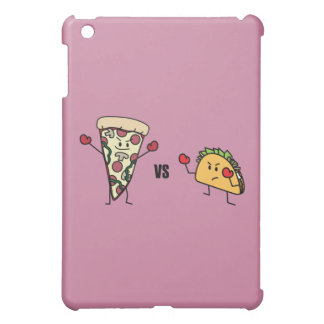 Pepperoni Pizza VS Taco: Mexican versus Italian Cover For The iPad Mini