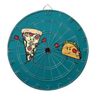Pepperoni Pizza VS Taco: Mexican versus Italian Dartboard