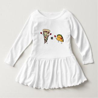 Pepperoni Pizza VS Taco: Mexican versus Italian Dress
