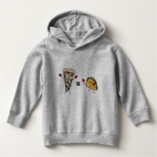 Pepperoni Pizza VS Taco: Mexican versus Italian Hoodie