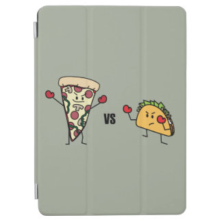 Pepperoni Pizza VS Taco: Mexican versus Italian iPad Air Cover