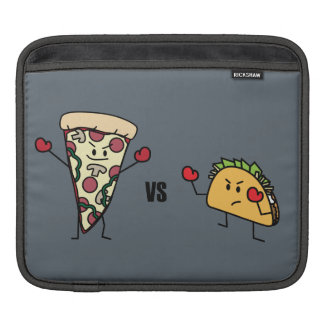 Pepperoni Pizza VS Taco: Mexican versus Italian iPad Sleeve